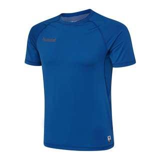 hummel HML FIRST PERFORMANCE JERSEY S/S T-Shirt Herren TRUE BLUE