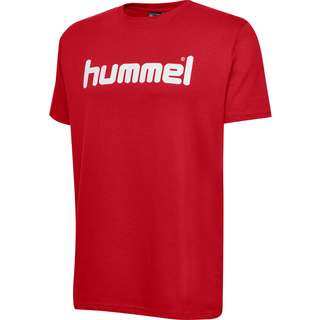 hummel HMLGO COTTON LOGO T-SHIRT S/S T-Shirt Herren TRUE RED