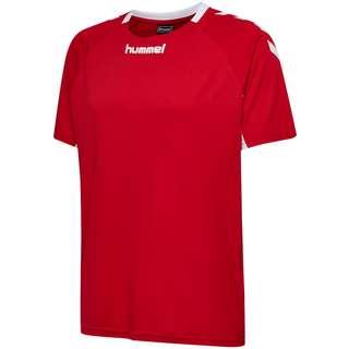 hummel CORE KIDS TEAM JERSEY S/S T-Shirt Kinder TRUE RED