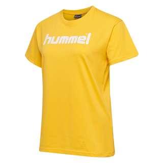 hummel T-Shirt Damen SPORTS YELLOW