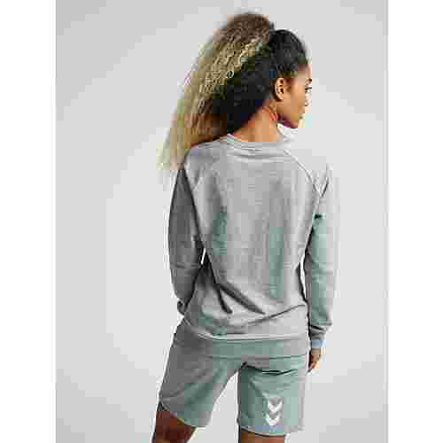 hummel HMLGO COTTON LOGO SWEATSHIRT WOMAN Sweatshirt Damen GREY MELANGE
