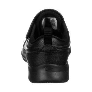 Nike Varsity Leather Sneaker Kinder schwarz