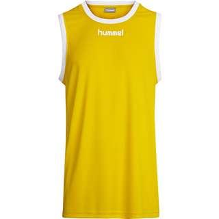 hummel CORE BASKET JERSEY T-Shirt Herren SPORTS YELLOW