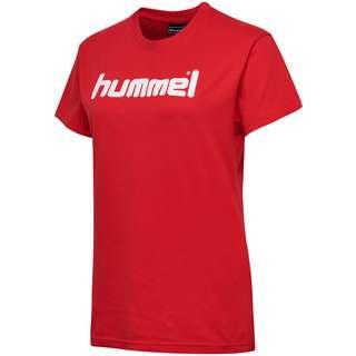 hummel T-Shirt Damen TRUE RED