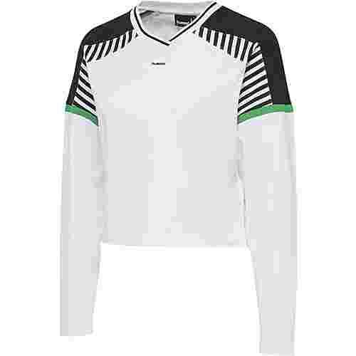 hummel hmlCATE T-SHIRT L/S T-Shirt Damen WHITE