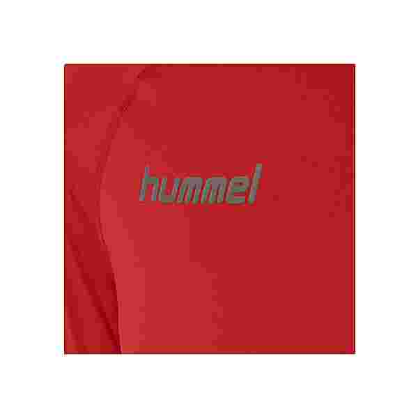 hummel HML FIRST PERFORMANCE JERSEY L/S T-Shirt Herren TRUE RED