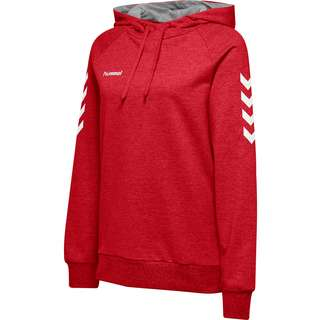 hummel HMLGO COTTON HOODIE WOMAN Hoodie Damen TRUE RED