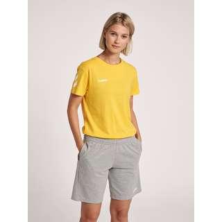 hummel HMLGO COTTON T-SHIRT WOMAN S/S T-Shirt Damen SPORTS YELLOW