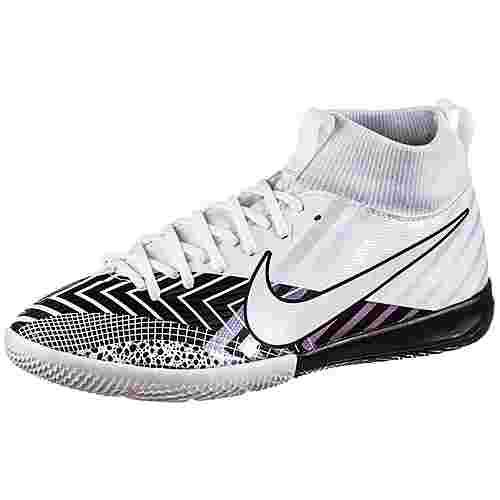 Nike JR Mercurial SUPERFLY 7 ACADEMY MDS IC Fußballschuhe Kinder white-white-black