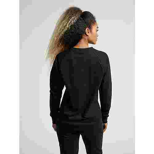 hummel HMLGO COTTON LOGO SWEATSHIRT WOMAN Sweatshirt Damen BLACK