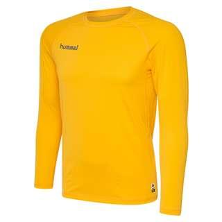 hummel HML FIRST PERFORMANCE JERSEY L/S T-Shirt Herren SPORTS YELLOW