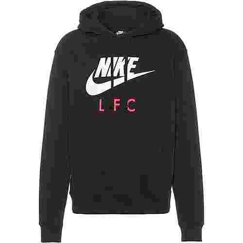 Nike FC Liverpool Hoodie Herren black-white