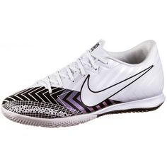 Nike Mercurial VAPOR 13 ACADEMY MDS IC Fußballschuhe white-white-black
