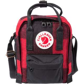 FJÄLLRÄVEN Rucksack Kånken Re-Wool Sling Daypack red-black