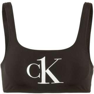 Calvin Klein Bikini Oberteil Damen pvh black