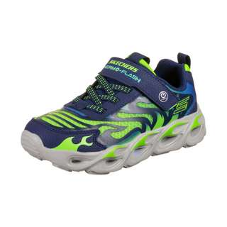 Skechers Thermo-Flash Sneaker Kinder dunkelblau / neongrün