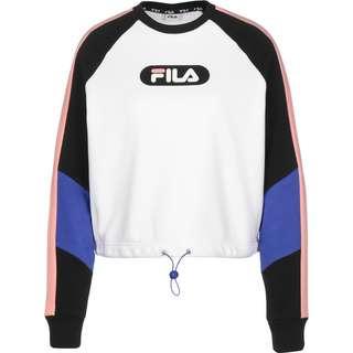 FILA Bane Blocked Cropped Sweatshirt Damen weiß