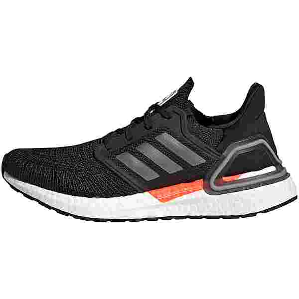 adidas ULTRABOOST 20 Laufschuhe Damen core black-iron met.-carbon