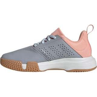 adidas Essence Hallenschuhe Damen halo silver-ftwr white-glow pink