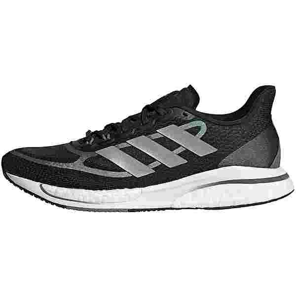 adidas SUPERNOVA +  BOOST BOUNCE Laufschuhe Damen core black-silver met.-blue oxide