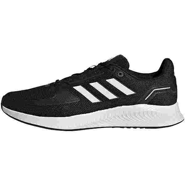 adidas RUNFALCON 2.0 Laufschuhe Herren core black-ftwr white-grey six