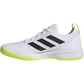 adidas Court Control M Tennisschuhe Herren ftwr white-core black-solar yellow