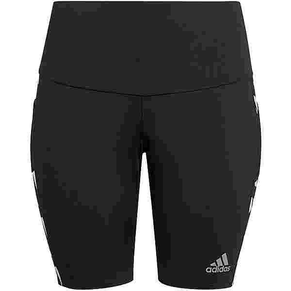 adidas PLUS SIZE Lauftights Damen black-white
