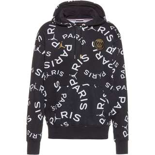 Nike Paris Saint-Germain/Jordan Hoodie Herren black-metallic gold