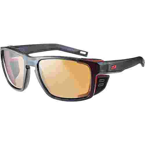 Julbo SHIELD Sportbrille schwarz/orange