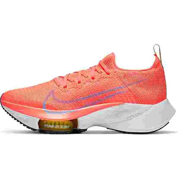 Nike AIR ZOOM TEMPO NEXT% Laufschuhe Damen bright mango-purple pulse-white