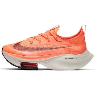 Nike Air Zoom Alphafly Next% Laufschuhe Damen bright mango-citron pulse