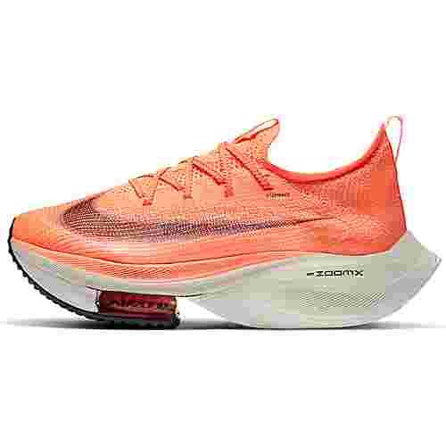Nike Air Zoom Alphafly Next% Laufschuhe Damen bright mango-citron pulse