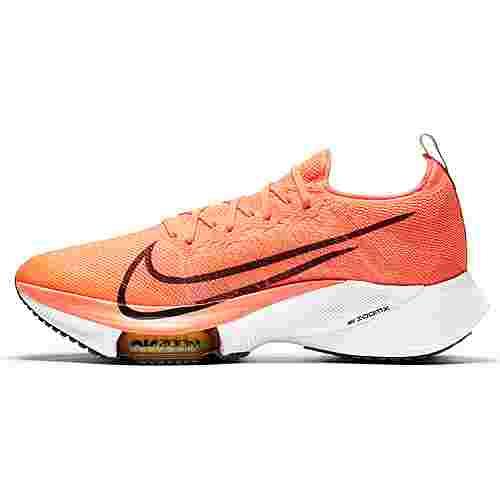 Nike AIR ZOOM TEMPO NEXT% Laufschuhe Herren bright mango-black-citron pulse