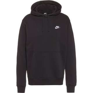 Nike NSW Club Hoodie Herren black-black-white