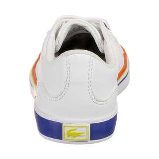 Lacoste Lerond Sneaker Kinder weiß / blau