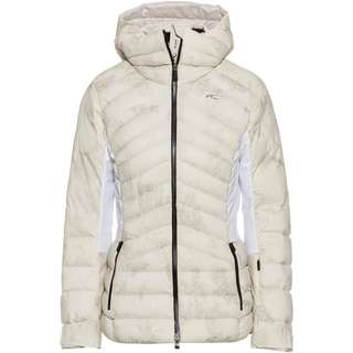 KJUS Duana Skijacke Damen pebble rock-white