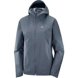 Salomon Outline Hardshelljacke Damen ebony