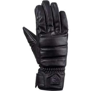 Hestra Alpine Leather Primaloft Skihandschuhe black