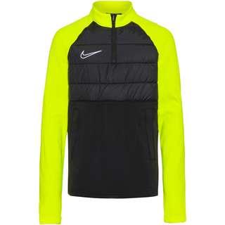 Nike Academy Funktionsshirt Kinder black-volt-black-reflective silv