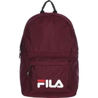 FILA Rucksack Bianco New Daypack weinrot