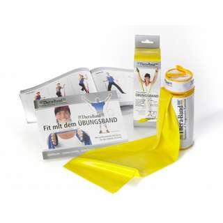 TheraBand Gymnastikband gelb