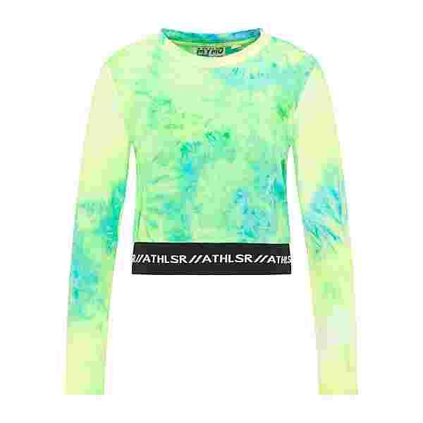 MYMO Langarmshirt Damen Neon Grün