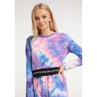 MYMO Langarmshirt Damen Neon Pink