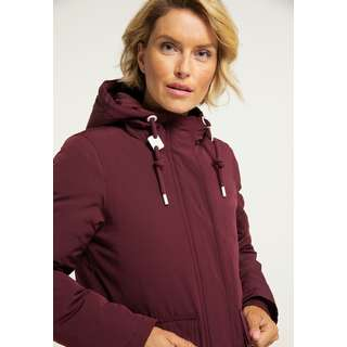 Icebound Winterjacke Damen bordeaux