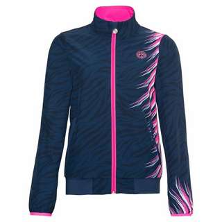 BIDI BADU Gene Tech Jacket Funktionsjacke Damen dunkelblau/pink