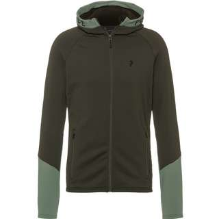 Peak Performance RIDER Fleecejacke Herren coniferous green