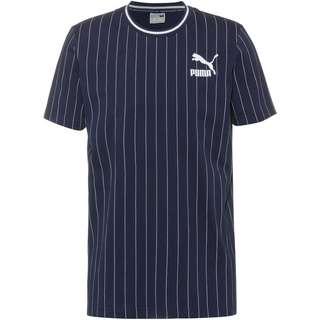 PUMA Pinstripe 2.0 T-Shirt Herren peacoat