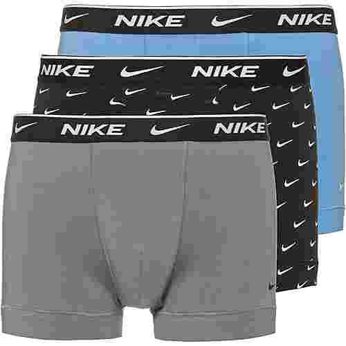 Nike Boxer Herren swoosh print-cool grey-university blue