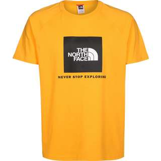 The North Face RAG Red Box T-Shirt Herren gelb