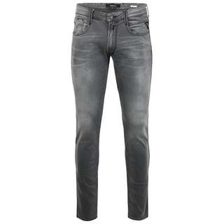 REPLAY Anbass Straight Fit Jeans Herren grey